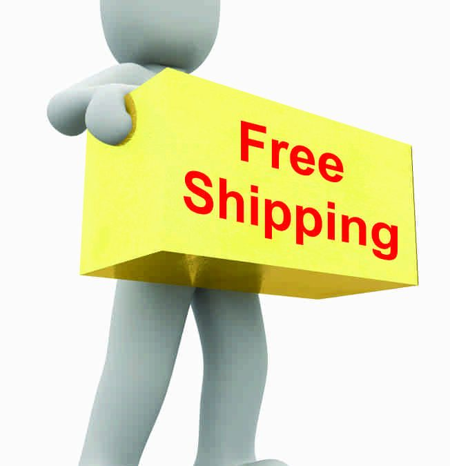 Free Shipping Now Available for Most Orders!