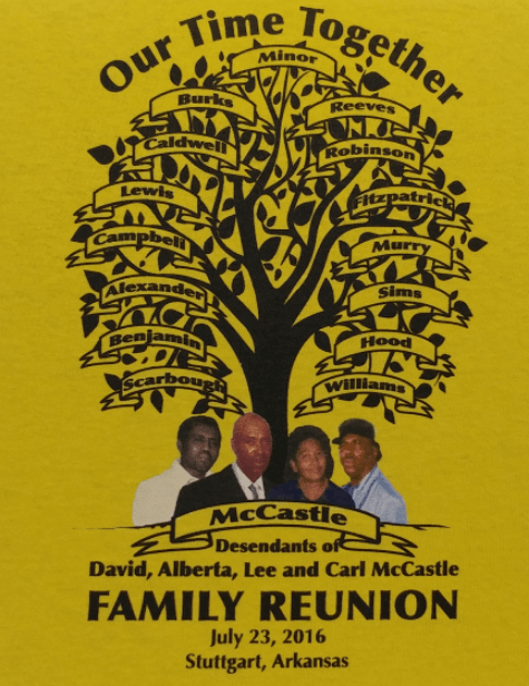 Full Color Indianapolis Family Reunion Shirts