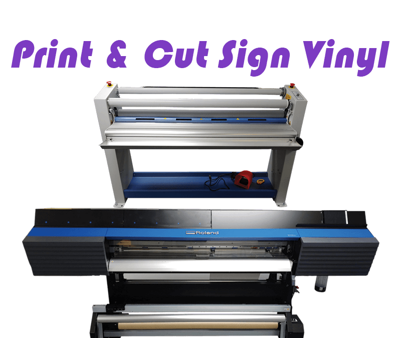 Custom Signs and Banners: Meet our New Roland VG-540