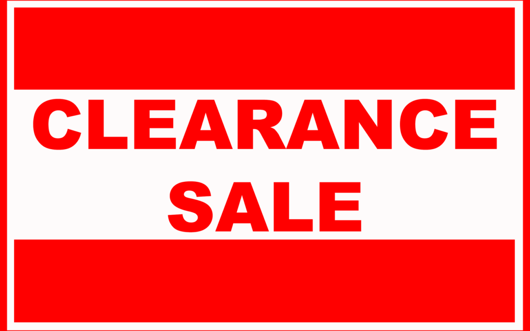 21st Anniversary Celebration and Overstock Apparel Inventory Clearance Sale 9/24